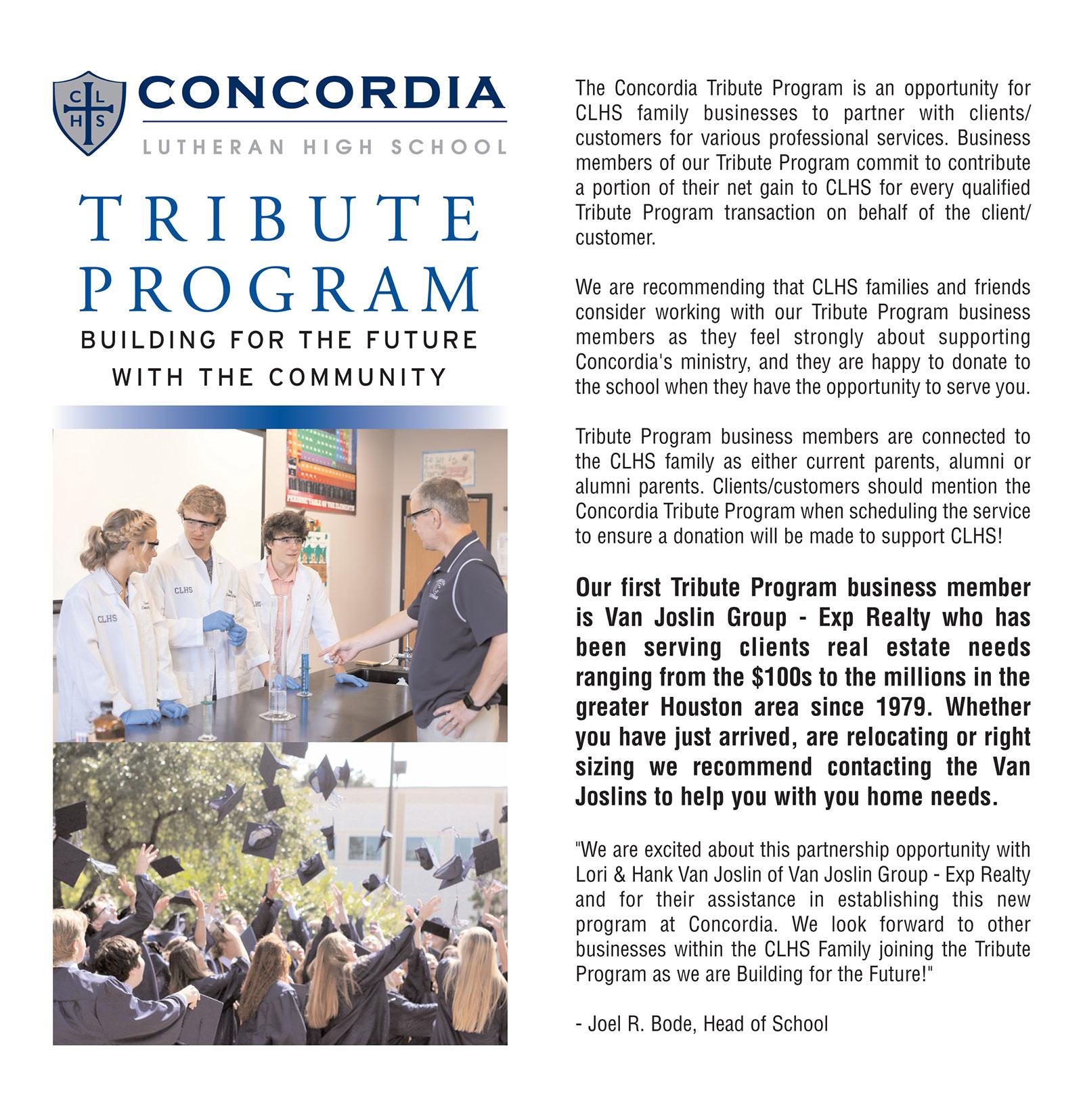 Concordia-Tribute